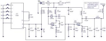 5 channel radio remote control circuit based of tx 2b rx 2b pair 5 channel radio remote control