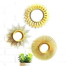 circle mirror wall art mirrored circles wall decor large circle mi gold metal mirror circle panel wall art