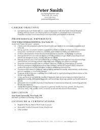 Med Surg Nurse Resume Medical Surgical Nurse Cover Letter Sample