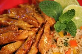 Lime Chicken With Mint - lunch & light meals