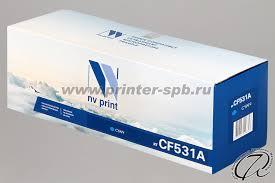<b>Картридж</b> HP <b>CF531A</b> 205A совместимый голубого цвета ...