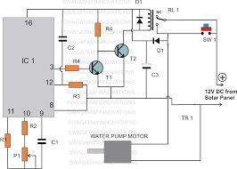 water pump control panel wiring diagram water semi automatic water level controller timer circuit electronic on water pump control panel wiring diagram
