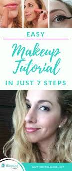 easy makeup tutorial in just 7 steps