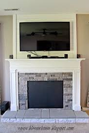 faux fire place remodelaholic how to build a faux fireplace and mantel