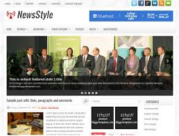22 Free News Blogger Templates Themes 2018 Templatefor