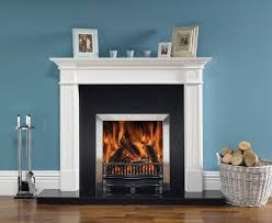 stovax riva open 22 traditional fire with brushed stainless steel profil frame polished holyrood front and log tray