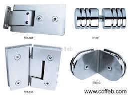 stainless steel glass door hinge 1