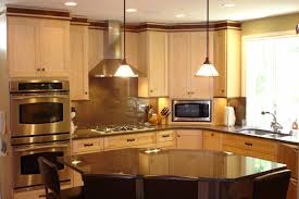 Curved Kitchen Island Designs Amazing Of Interesting Curved Kitchen Island Design Wonde 6196