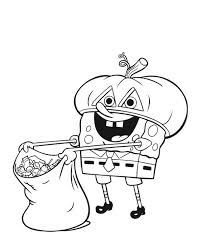 Small Picture Nickelodeon Halloween Coloring Pages For Kids Hallowen Coloring