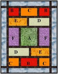 Big Block Quilt by Black Cat Creations -- free pattern   Quilting ... & A very quick quilt for fabulous fat quarters. This would make it easy to  showcase big print fabrics, like Asian brocades and such. fast and easy use  large ... Adamdwight.com
