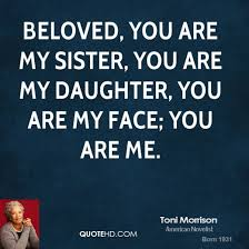 beloved by toni morrison literary analysis hubpages consisting of multiple narrative perspectives morrison illustrates the merging of these distinct perspectives in chapter 23 when sethe denver and beloved