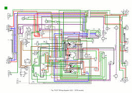 wiring diagrams mg midget 1500 full colour