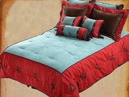 western bedding set longhorn branded turquoise western bedding set western bedding sets twin