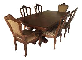 Ethan Allen Tuscany Dining Set Set Of  Chairish - Ethan allen dining room chairs