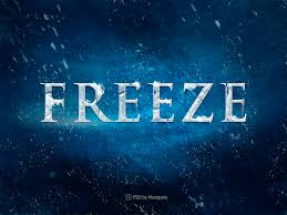frozen font free download psd freeze free download text effect freebies psd