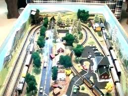 coffee table train layout train coffee table layout n scale comments set full size