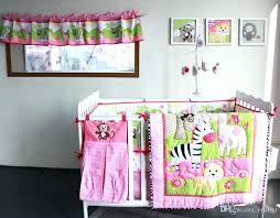 monkey crib bedding sets for boys monkey baby bedding zebra giraffe monkey embroidery girl baby bedding