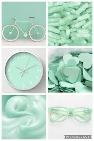 The Best 23 Light Green Collage Wallpaper