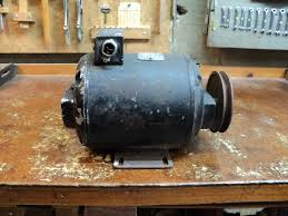 electric motor. An Antique Wagner Electric 1/2 HP Motor