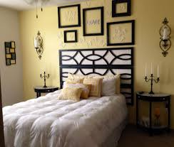 pale yellow bedroom.  Yellow Blackwhite Bedroom Pale Yellow Accent Wall  Minus The Stuff Above  Bed And I Think That Room Is Just About Perfect The Headboard Reminds Me Of A  For Bedroom O