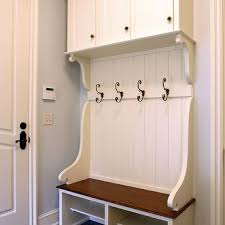Built In Coat Rack Delectable Beadboard Coat Rack Design Ideas