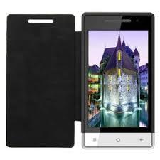 Flip Cover for Karbonn A6 Star - Black ...