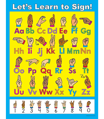 Let S Learn To Sign Chart