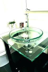 bathroom glass vessel sink for basins uk sinks and vanities bowls home improvement astounding