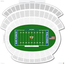 Air Force Football Seating Chart Falcon Stadium Air Force Seating Guide Rateyourseats Com
