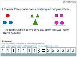 Презентации для начальной школы по математике Презентация для начальной школы по математике Знаки больше меньше и равно