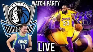 Dallas Mavericks VS The Los Angeles Lakers Live Stream - YouTube