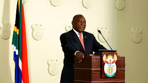 Government communications hosts virtual panel. South Africa Coronavirus Cyril Ramaphosa Announces Extension Of Covid 19 Restrictions Closes Land Borders Cnn