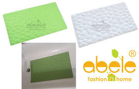 ABELE Bathtub Mats: ABELE (R) Aqua Non Slip Soft Rubber Baby Kids ...