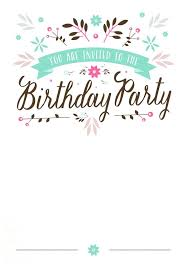 Template For Party Invitations Templates On Fantastic Personal ...