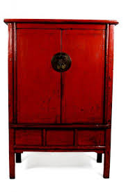 laquered furniture. red lacquer chinese chest laquered furniture