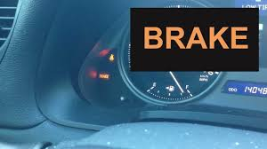 Low Washer Fluid Warning Light Lexus How To Fix Brake Warning Light In Lexus Is250 2006 2014 Brake Light On