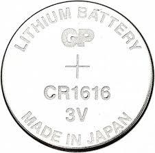 <b>Батарейка GP</b> Lithium, CR1616, литиевая, 1 штука, отрывная ...