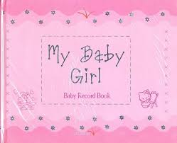 online baby photo book my baby girl baby record book buy my baby girl baby record