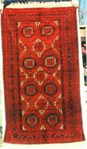 persian turret gul baluch rug