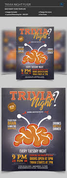 trivia night flyer templates trivia night flyer template by madridnyc graphicriver