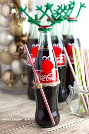 Cherry Coke Poke Cake and Coke Bottle Reindeer are quick, easy and make the  perfect