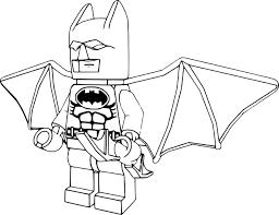 Coloriage Batman Lego Imprimer