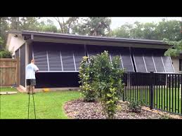 Building Exterior Shutters Bahama Shutters For Exterior Windows Youtube