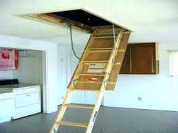 heavy duty attic stairs pull down with handrail ideas telescoping ladder steps folding st attic stairs