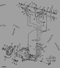 fuel injection system backhoe loader john deere list of spare parts