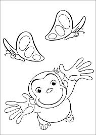 Disegni Curioso Come George Per Bambini 24