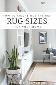 check out these tips for ing the right size rug for your home