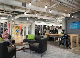 activision blizzard coolest offices 2016. Spread The 600 Employees Into An Adjacent Office Tower And Connect Structures With A Pedestrian Bridge. It\u0027s First Vertical Campus In Area. Activision Blizzard Coolest Offices 2016