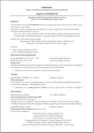 Esthetician Resume Sample - http://www.resumecareer.info/esthetician-