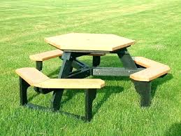 8 foot picnic table plans round picnic table plans lifetime folding bench bench square picnic table